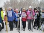 Члены Туринской ТИК и   молодежной  избирательной комиссии - участники лыжной гонки «Лыжня России – 2016»