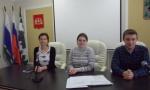 На заседании молодежной избирательной комиссии