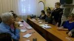 Продолжаются встречи председателя комиссии с избирателями
