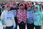 Члены молодежной избирательной комиссии - участники лыжной гонки «Лыжня России – 2017»