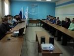 21 февраля в Новоуральском технологическом институте прошла встреча молодых избирателей - студентов института с председателем Новоуральской городской территориальной избирательной  комиссии