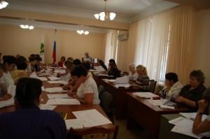 27 августа 2017 года продолжилось обучение членов УИК по работе со списками