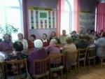 Членам Туринского общества слепых – о новациях избирательного законодательства
