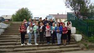Молодежная территориальная избирательная комиссия провела социальную акцию «Витамин лета»