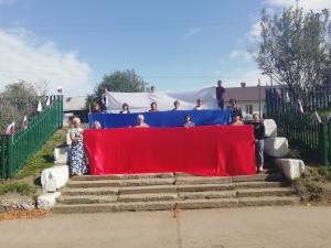 Акция, посвященная Дню Российского флага