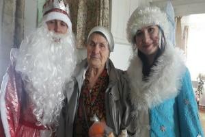 Члены МИК организовали акцию «Дед Мороз - ОДОБРЯЕТ….»